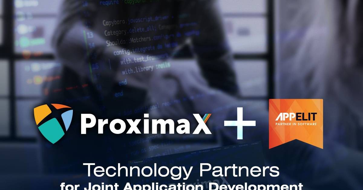 APPelit Selects ProximaX as Technology Partner for Joint Application Development