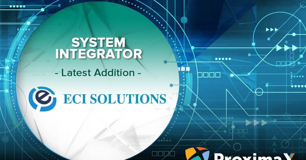 ECI Solutions trabajará con ProximaX como socio tecnológico para la gestión de datos