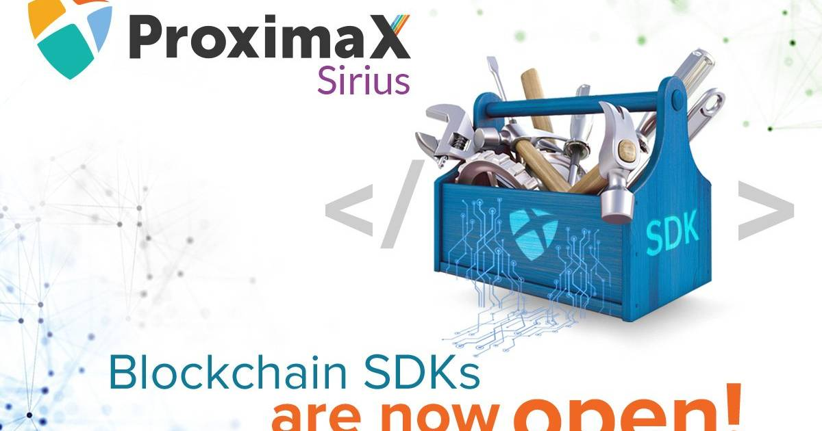 ProximaX Sirius Blockchain SDKs are now open!