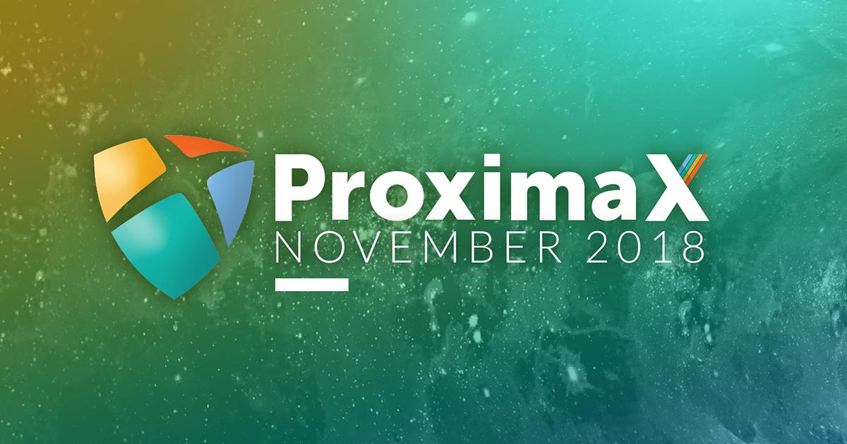 ProximaX Tech – November 2018