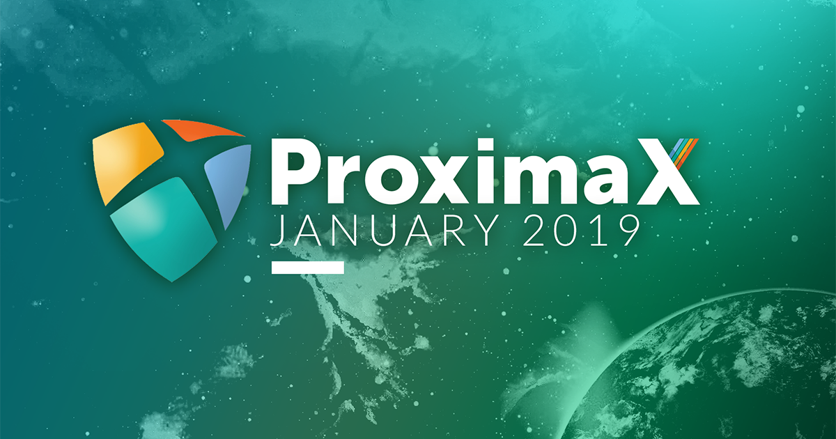 ProximaX Tech January 2019