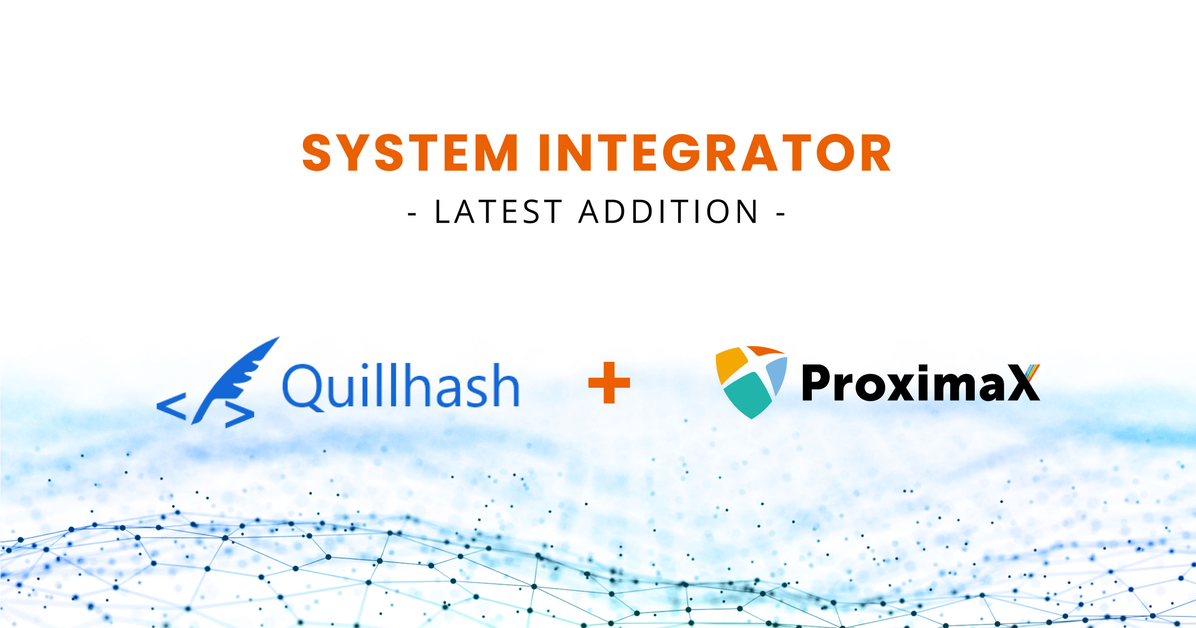 ProximaX Partnership