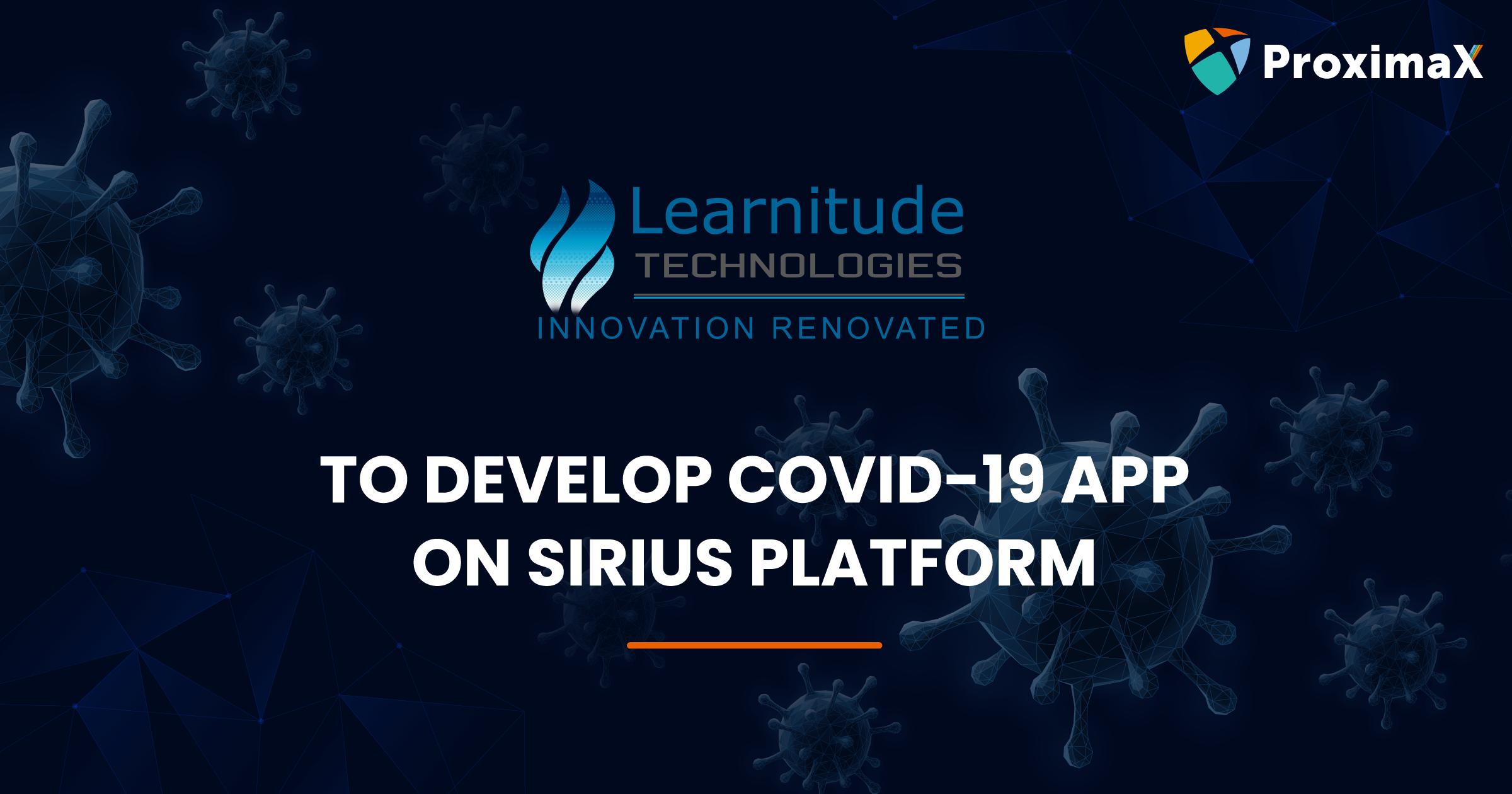 covid-19 app on sirius platform