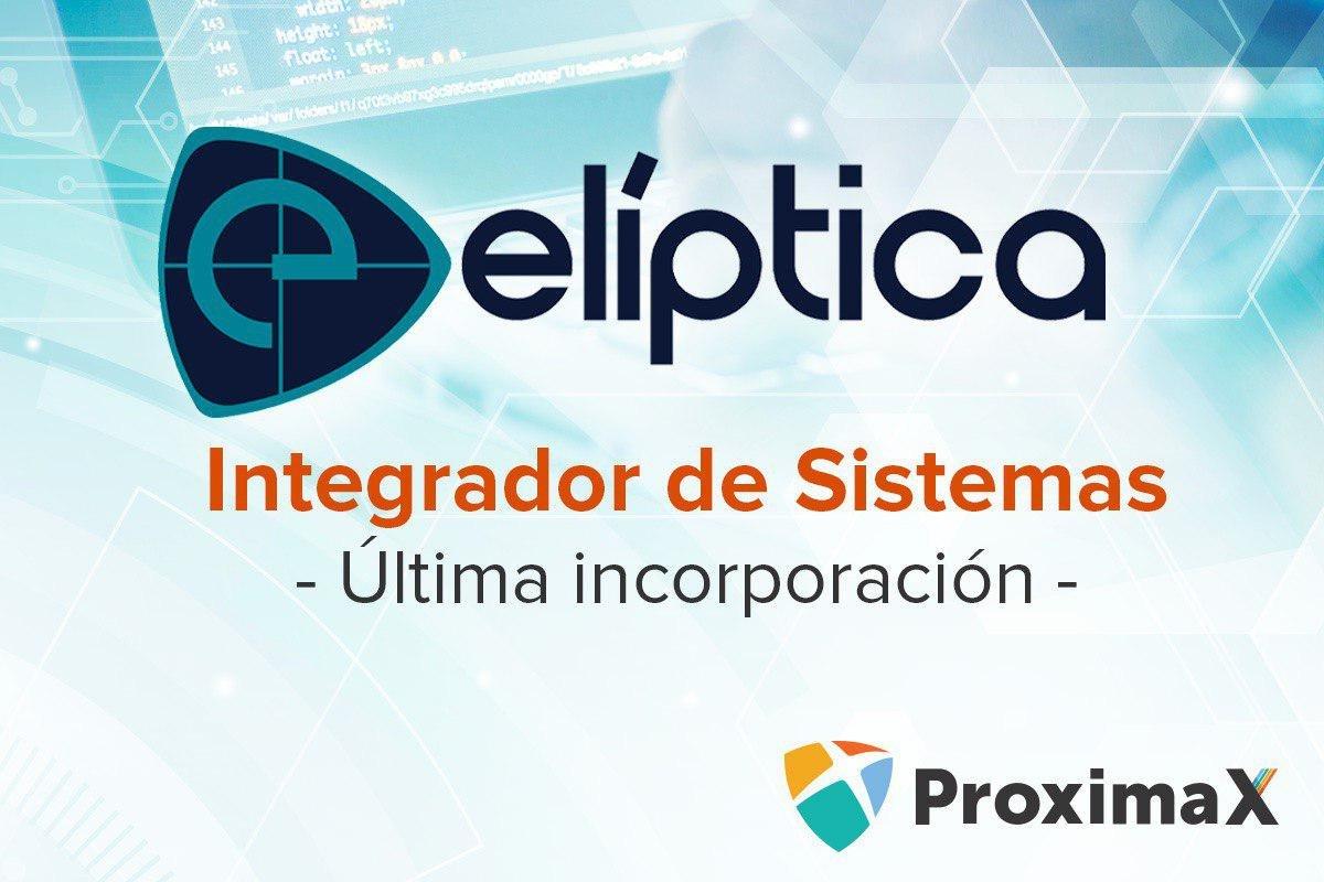 Elíptica fue designado como el primer integrador de sistemas de ProximaX en América Latina