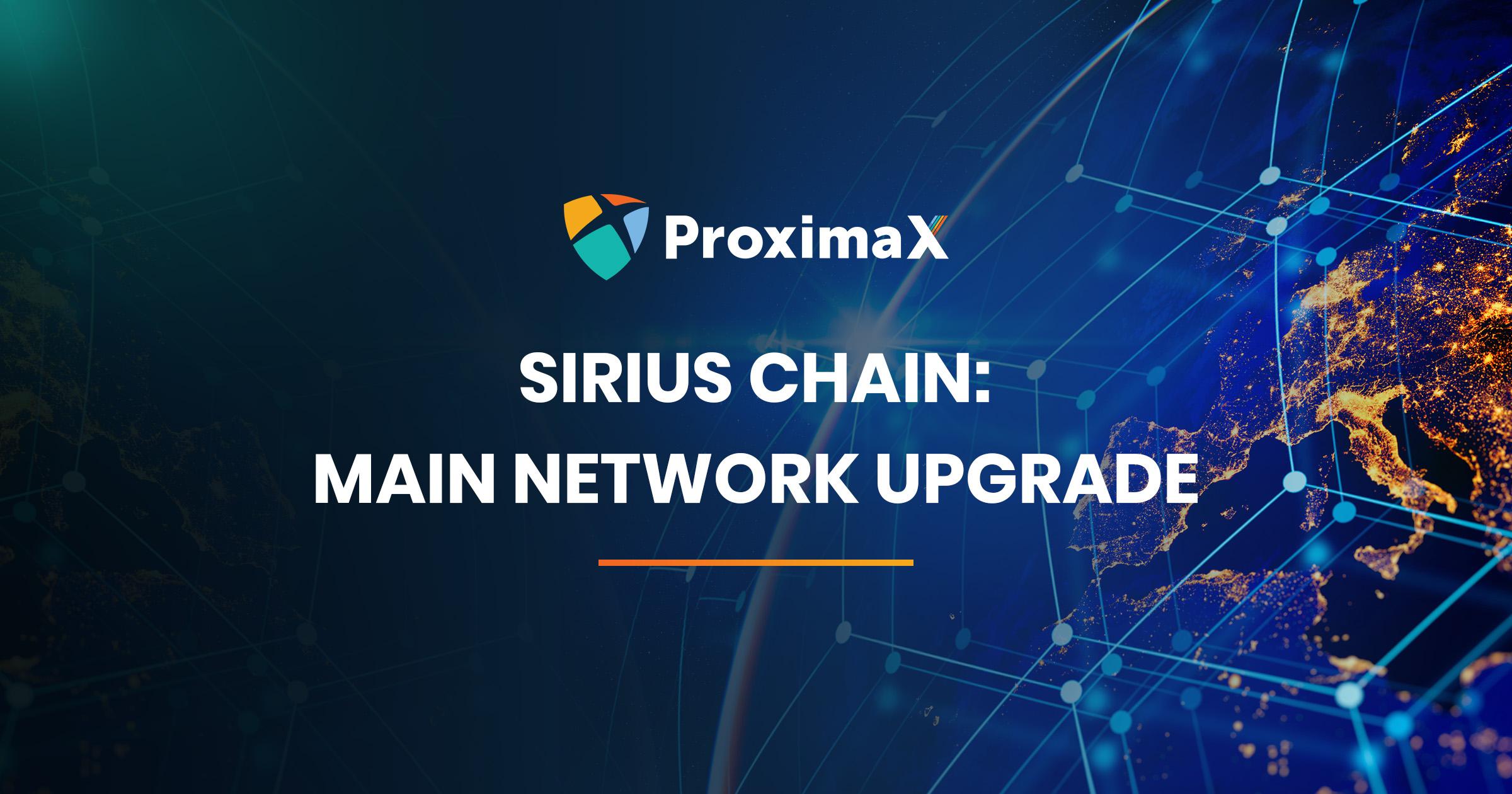 Sirius Chain Upgrade