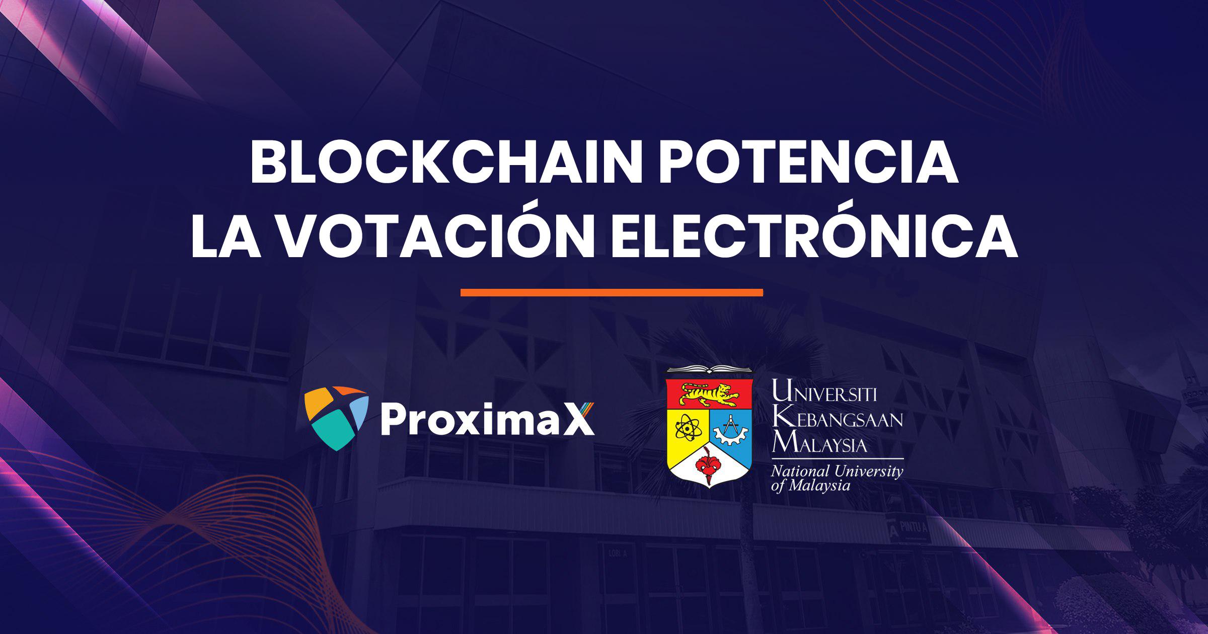 Votación electrónica impulsada por blockchain en la Universidad Nacional de Malasia